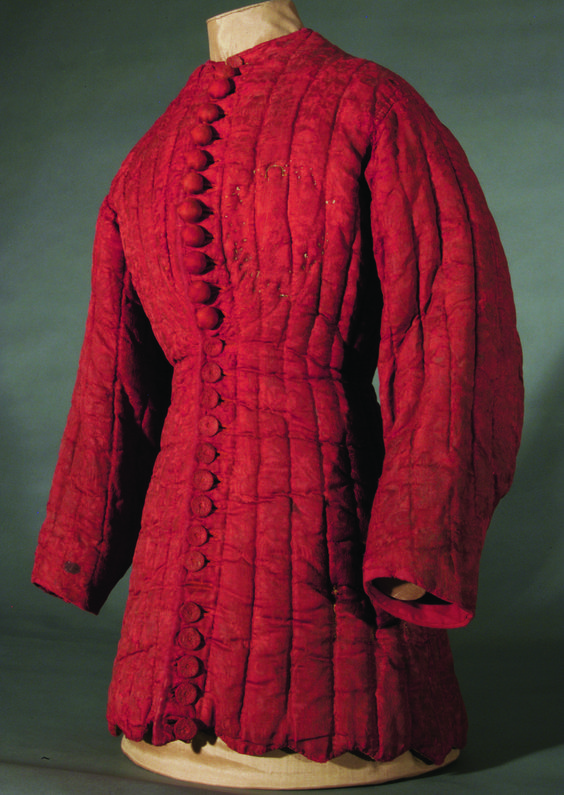 Quilted man's jacket, France, 15th century, Chartres Museum