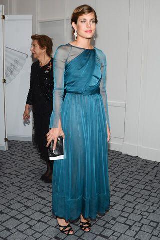 Charlotte Casiraghi in Chanel PF12