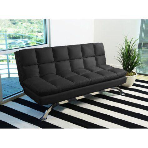 Silo Euro Lounger Sofa Assorted Colors Abbyson Living Black