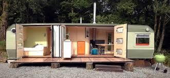 Amazing What You Can Do With An Old Caravan George Clark 39 S Small Spaces Caravan Google Search
