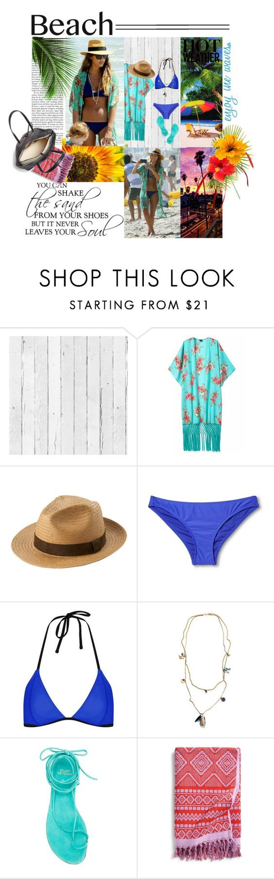 """""""Hello Summer"""" by sanamisbah ❤ liked on Polyvore featuring NLXL, Chicnova Fashion, Uniqlo, Topshop, Maiden-Art, Stuart Weitzman, Vera Bradley, Loeffler Randall and coverups"""