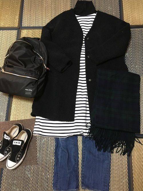 junjun merlot ikyuのワンピースを使ったコーディネート wear ファッション ワンピース ファッションコーディネート