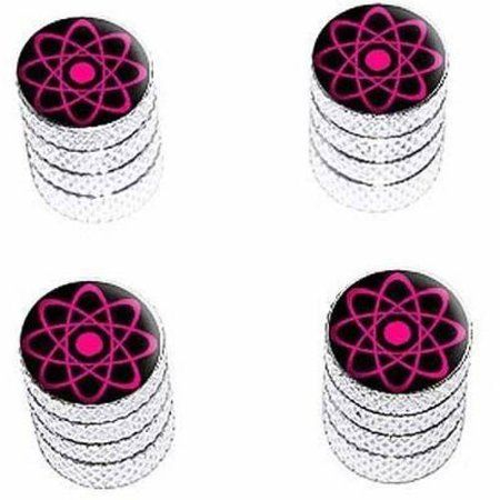 Tire Rim Wheel Aluminum Valve Stem Caps Pink Color