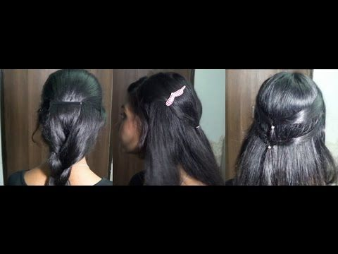 Check Out This Blend Of Modern And Traditional South Indian Hairstyles For South Indian Women Big Shoutou Hair Styles South Indian Hairstyle Womens Hairstyles