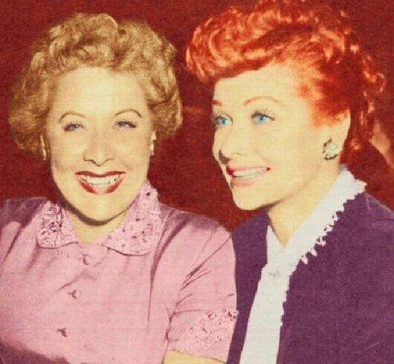 Vivian Vance and Lucille Ball