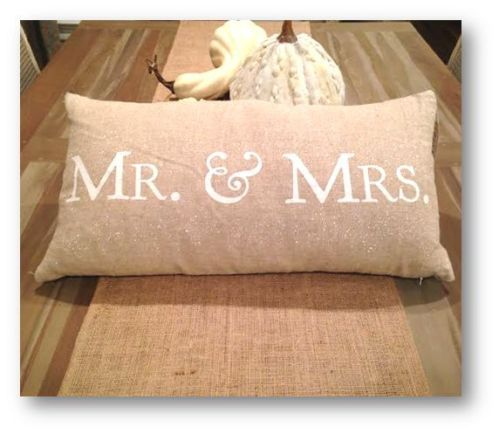 Decorative Throw Pillows Burlap And Vintage Weddings On