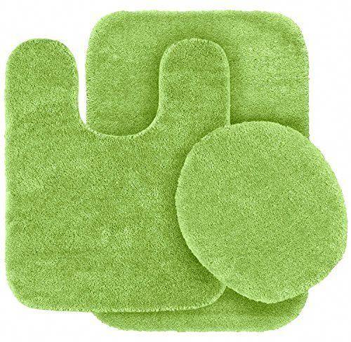Greenbathroomdecor Green Bathroom Rugs Bathroom Rug Sets