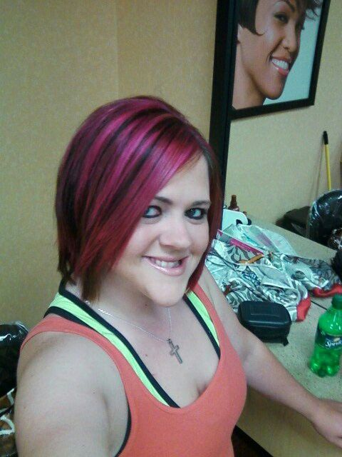 Loved my pink hair!