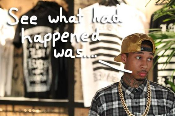 Tyga Responds To The New Cheating Allegations Surrounding Those D*ck Pics!