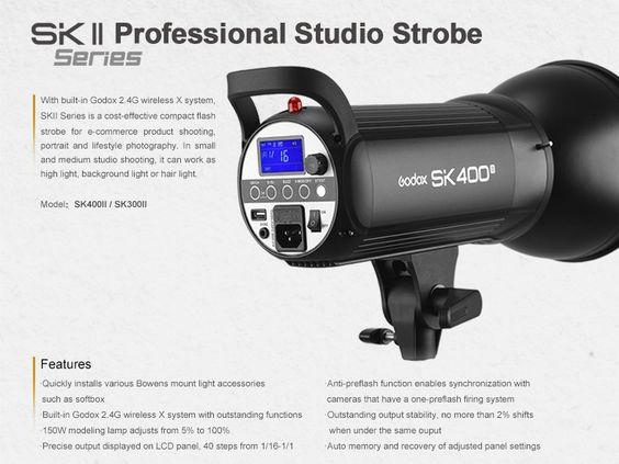 Godox Sk400ii Flashgear Net Strobing Wireless System Photo Gear