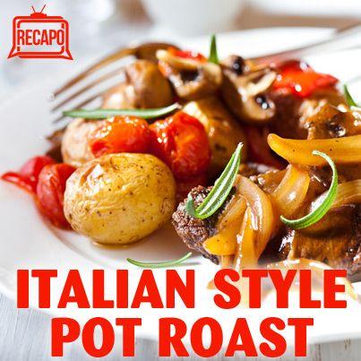 Rachael Ray Italian Style Pot Roast: Grandpa's Braised Beef Recipe ...
