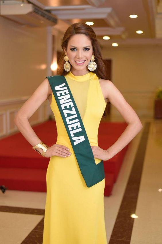 La Organización Miss Venezuela, envia a Maira Alexandra Rodríguez para que compita el 29 de noviembre en Filipinas, por el título de Miss Earh 2014, titulo que que ostenta su compatriota Alyz Henrich.. apostando por Back to Back..