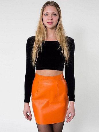 The leather mini skirt – Modern skirts blog for you