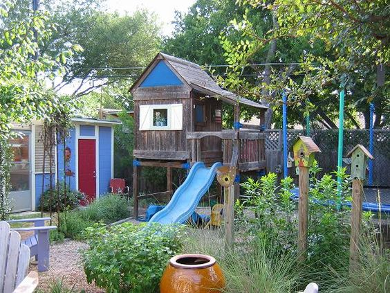 Natural playgrounds, Playgrounds and Bird houses on Pinterest