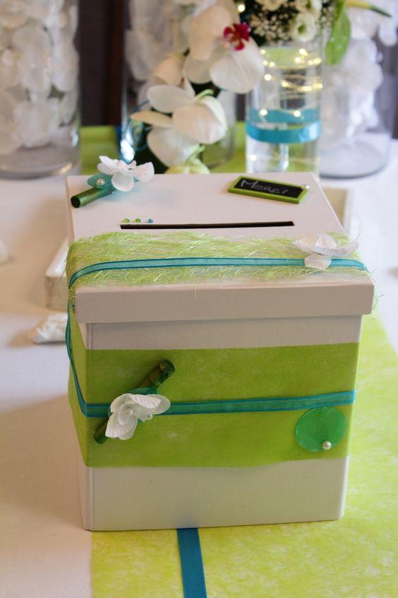 ... mariage turquoise et vert anis mariage zen orchidée mariage anis