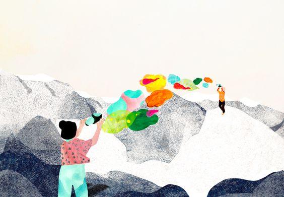 UAL - Student Support - Marja de Sanctis Illustration