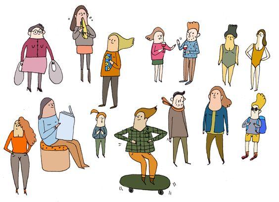 illustration de 2 personnages