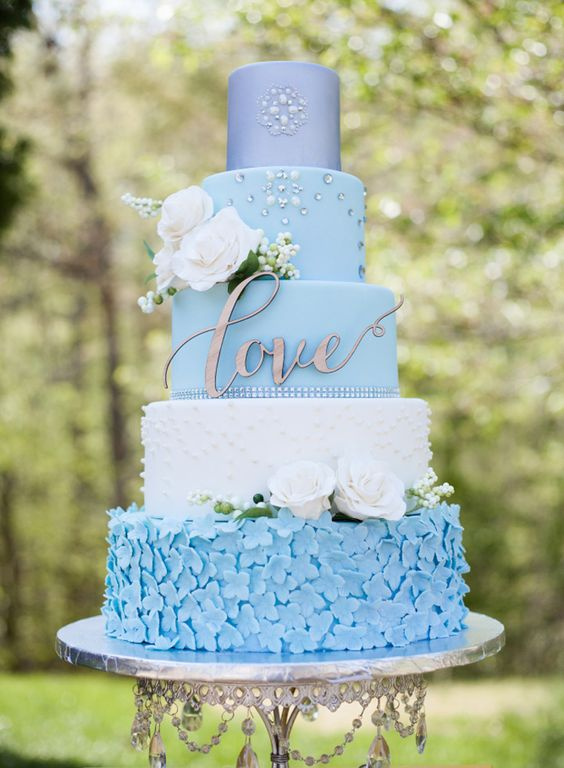 Artistic Wedding Cakes by Rebekah Naomi Cake Design  ~  we ❤ this! moncheribridals.com: