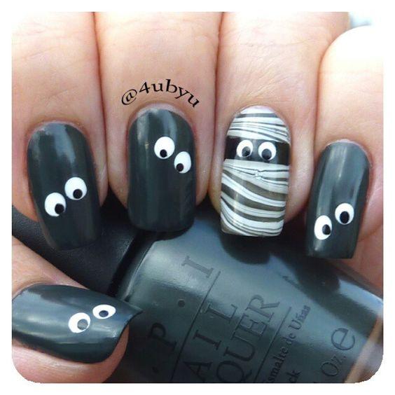 halloween by 4ubyu #nail #nails #nailart