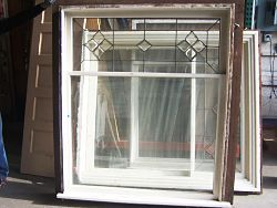 You can use a cool leaded window like this in a variety of home renovations and art projects
