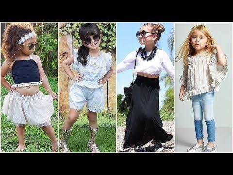 2 ملابس أطفال بنات شيك 2018 أجمل ملابس البنوتات الصغيرين أحلى الأطقم للبنات الصغار Youtube Fashion Capri Pants Pants