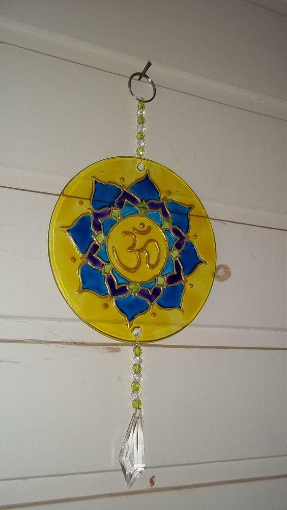 Mandala OM positividade, paz, espiritualidade e cura