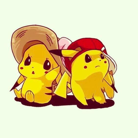 cute pikachu couple pokemon -#main