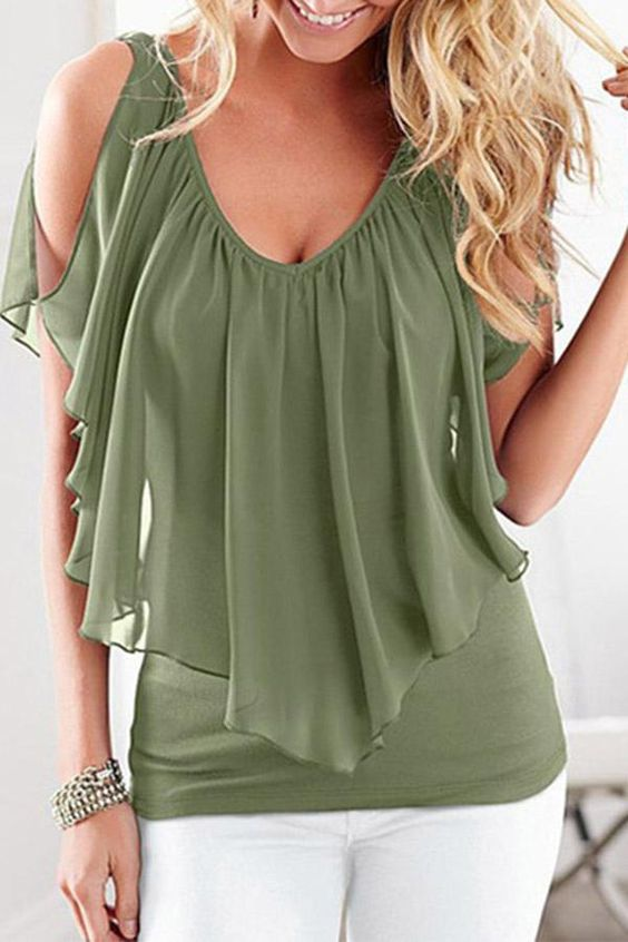 Great V-Neck Top