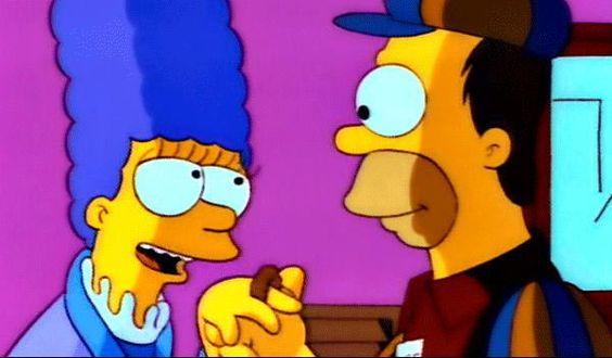 Fabricante de velas en el capítulo 'Me casé con Marge'