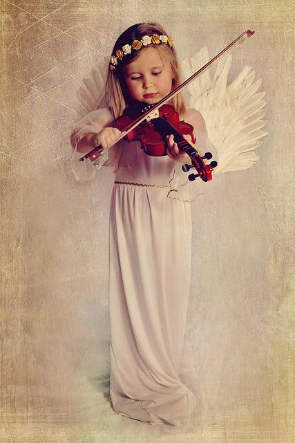 Angel on a Violin