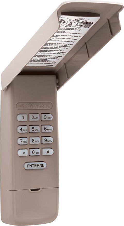 Liftmaster 877max Light Gray Liftmaster Liftmaster Garage Door Garage Door Opener Remote