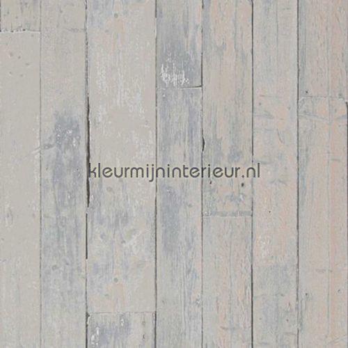 Verweerd ruw hout hout behang
