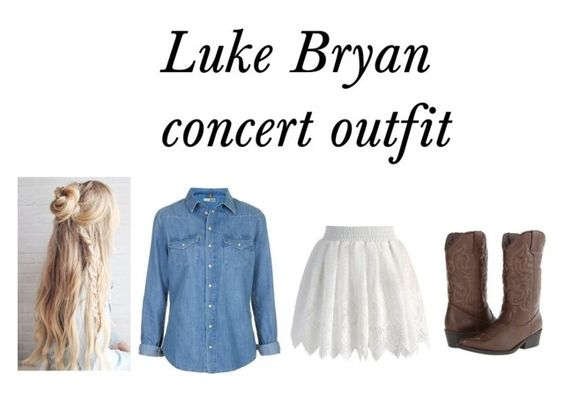 """Luke Bryan concert"" by katelyn-style ❤ liked on Polyvore featuring Chicwish, Topshop and Madden Girl"