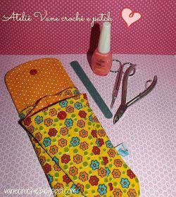 Olá!!!   Esse kit manicure é ótimo... Ideal para levar seu próprio alicate de unha, lixa, esmalte, tesourinha no dia da manicure. Muito rec...