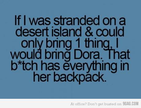 Da-Da-Da-Da-Dora!