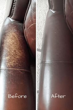 how to make a leather couch look new again/conditioning leather/life hack/chemical free cleaning/green living/homesteading