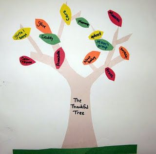 The Thankful Tree - I need to pull mine out of the closet!!