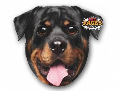 Kissen & KissenbezügePet Faces Kissen Hund: Rottweiler -50 cm-