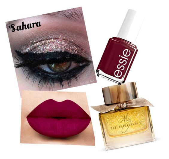 """Beauty1"" by lenaleblanc on Polyvore featuring beauté, Burberry et Essie"