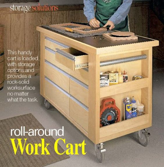 Book Of Woodworking Shop Cart Plans In Australia By Noah