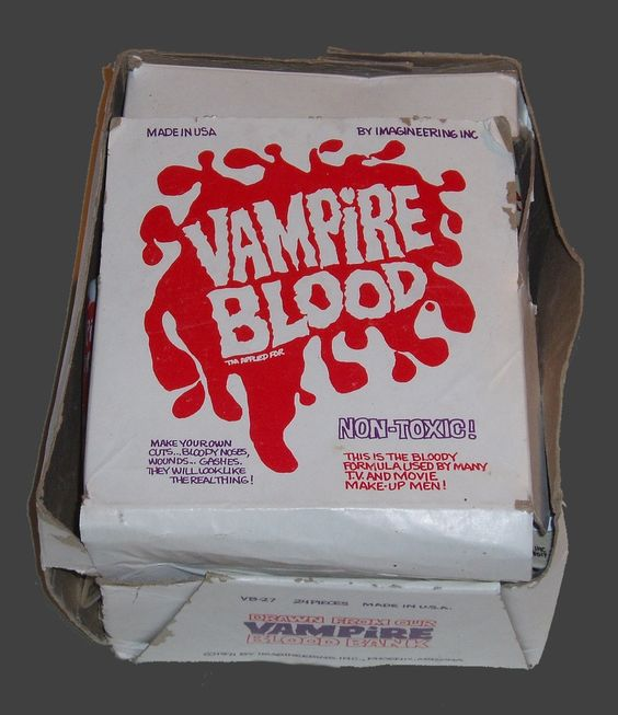 The Haunted Spookshow Of Channel X: PUTRID PLUNDER: IMAGINEERING VAMPIRE BLOOD™