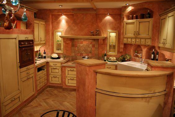 Landhausküche Gelb Baul Antik Modell Provence | Küchen-Ideen ...