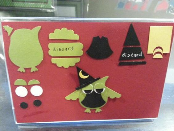 """TUTORIAL: Stampin' Up! """"Build A Owl"""" Punch: Halloween Witch"""