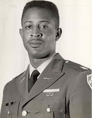 Riley Pitts, a Captain in the US Army, was the first African American commissioned officer to receive the Medal of Honor. He received the Medal of Honor posthumously for his actions in South Vietnam.