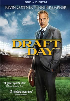 DRAFT DAY. On the day of the NFL Draft, general manager Sonny Weaver has the opportunity to save football in Cleveland when he trades for the number one pick. He must quickly decide what he's willing to sacrifice in pursuit of perfection as the lines between his personal and professional life become blurred on a life-changing day for a few hundred young men with dreams of playing in the NFL.: