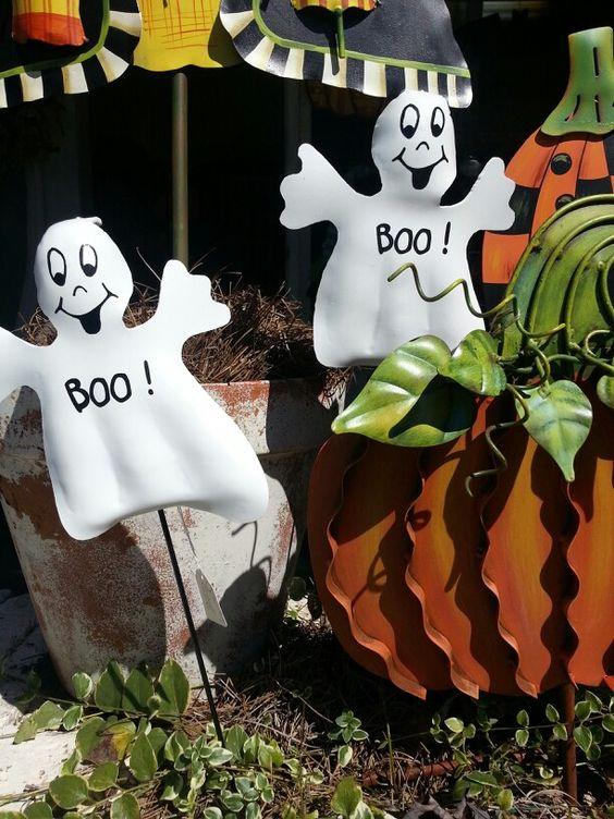 halloween garden stakes at lucibell halloween pinterest gardens halloween and garden stakes - Halloween Garden Stakes
