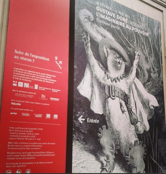 Exposition Gustave Doré - Musée d'Orsay - 2014 - Photo : Stéphanie LENNE
