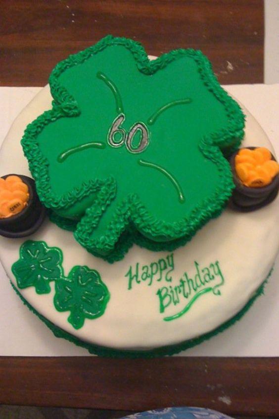 Irish Twins Birthday Cake Custom Cakes By Heather