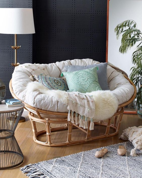 An Overview Of The Papasan Chair In 2020 Papasan Chair Living Room Comfy Chairs Living Room Chairs
