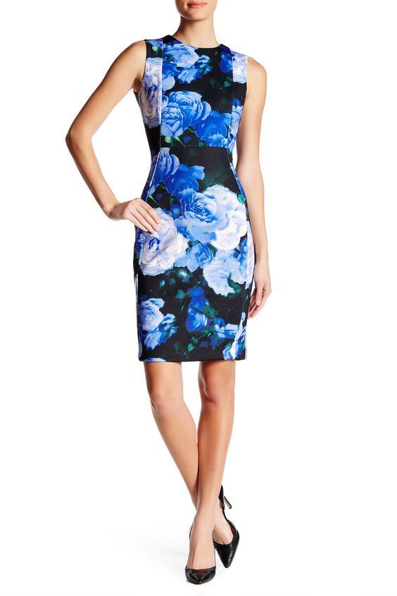 Floral Print Sheath Dress by Modern American Designer on @nordstrom_rack